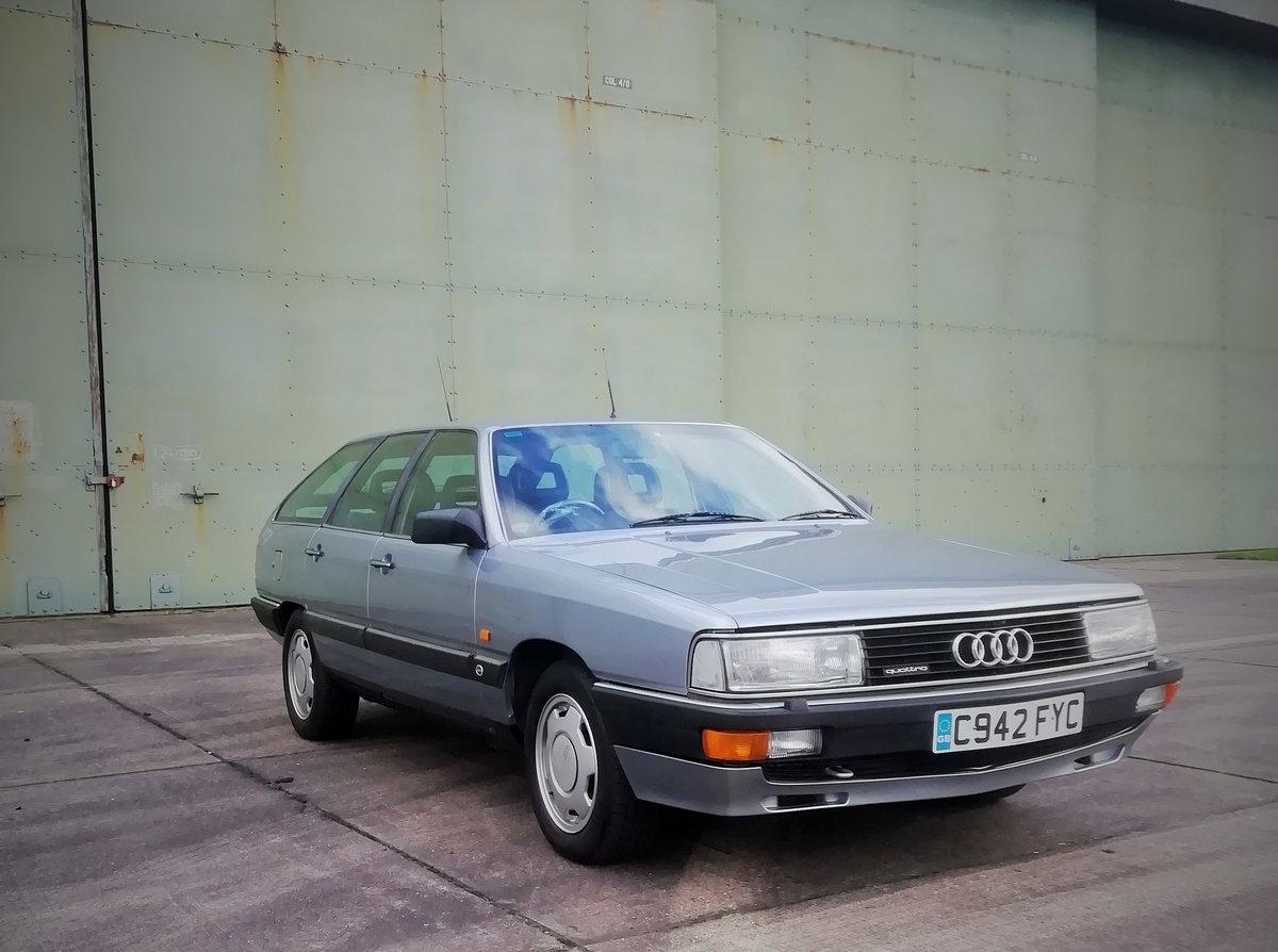 1986 Audi 200 avant quattro turbo ex John Haynes OBE For Sale (picture 1 of 6)