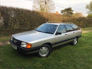 1989 Audi 100 Avant 2.0e manual
