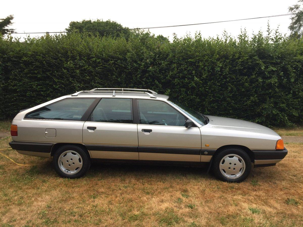 1989 Audi 100 Avant 2.0e manual For Sale | Car And Classic