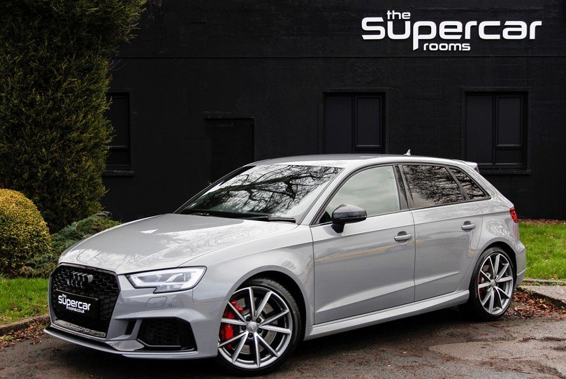 Audi RS3 Sportback - 14K Miles - 2018 - Nardo Grey For ...