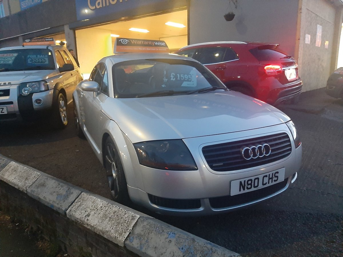 2001 AUDI  TT 1.8 TURBO  4X4  EXCELLENT CONDITION For Sale (picture 1 of 3)
