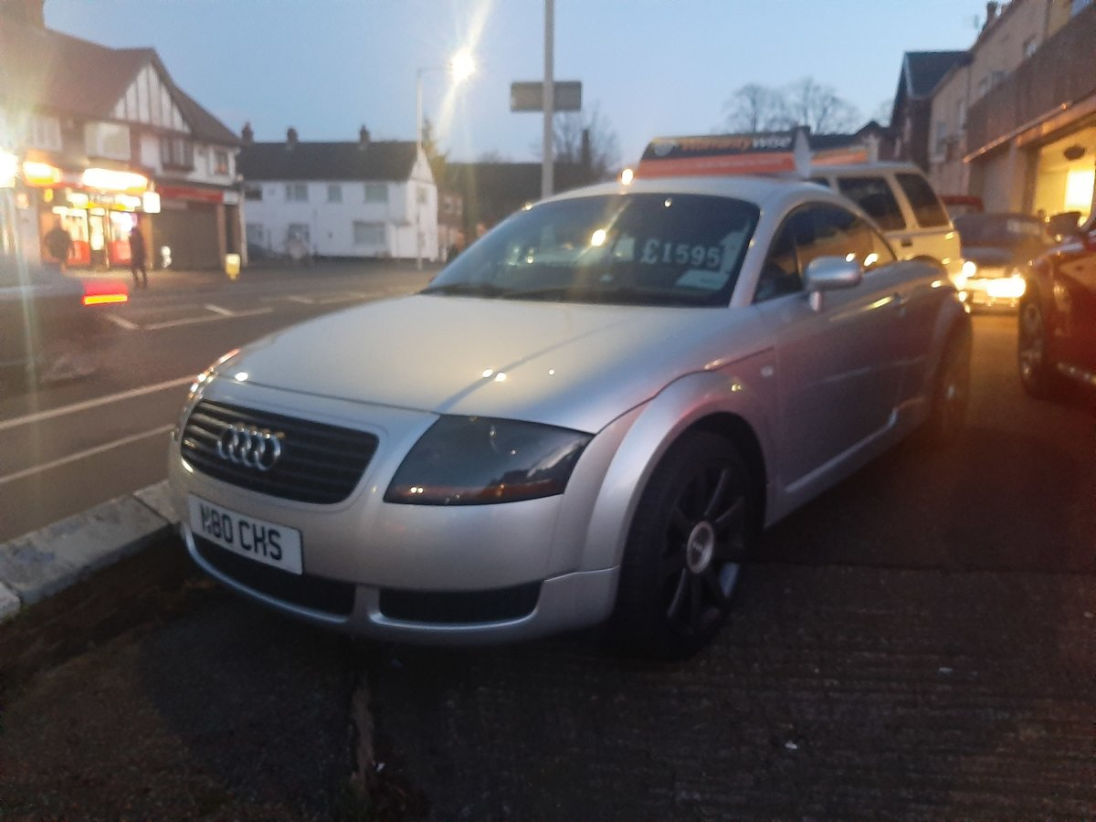 2001 AUDI  TT 1.8 TURBO  4X4  EXCELLENT CONDITION For Sale (picture 3 of 3)