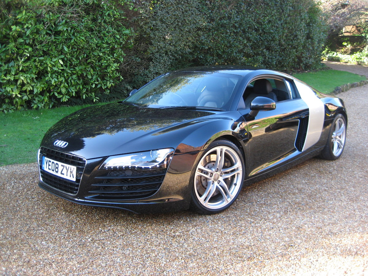 2008 Audi R8 Quattro 1 P/Owner With Just 20,000 Miles From New For Sale (picture 1 of 6)