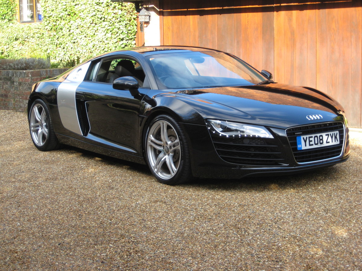 2008 Audi R8 Quattro 1 P/Owner With Just 20,000 Miles From New For Sale (picture 2 of 6)