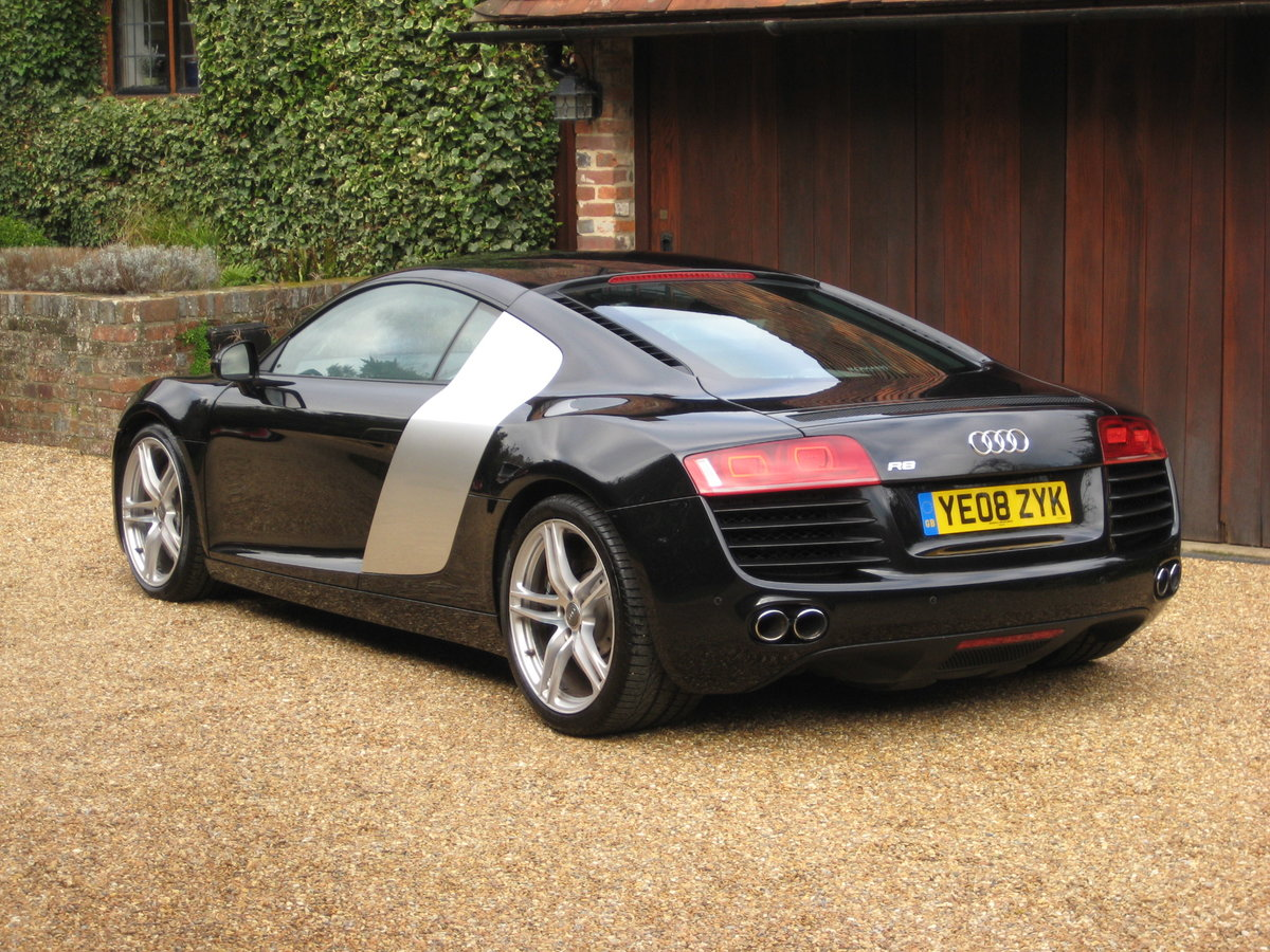 2008 Audi R8 Quattro 1 P/Owner With Just 20,000 Miles From New For Sale (picture 5 of 6)