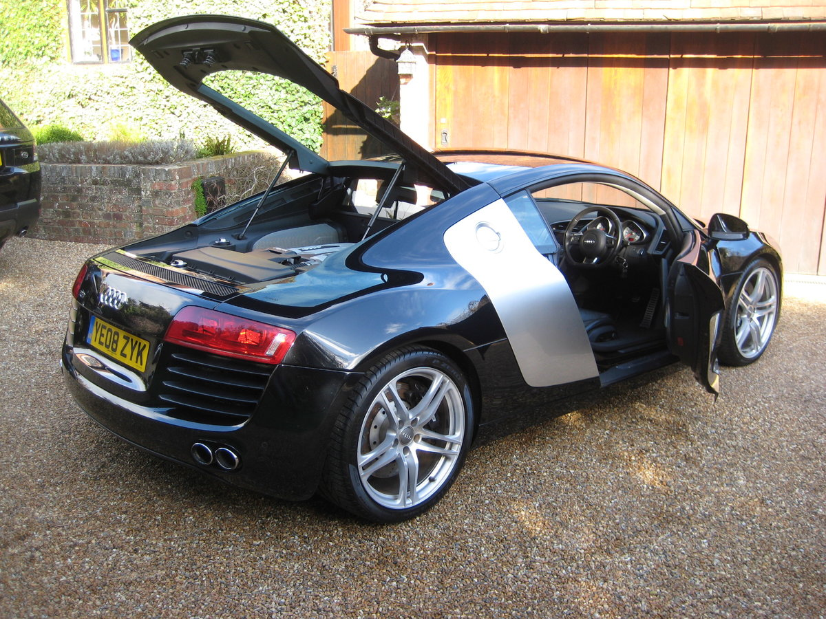 2008 Audi R8 Quattro 1 P/Owner With Just 20,000 Miles From New For Sale (picture 6 of 6)