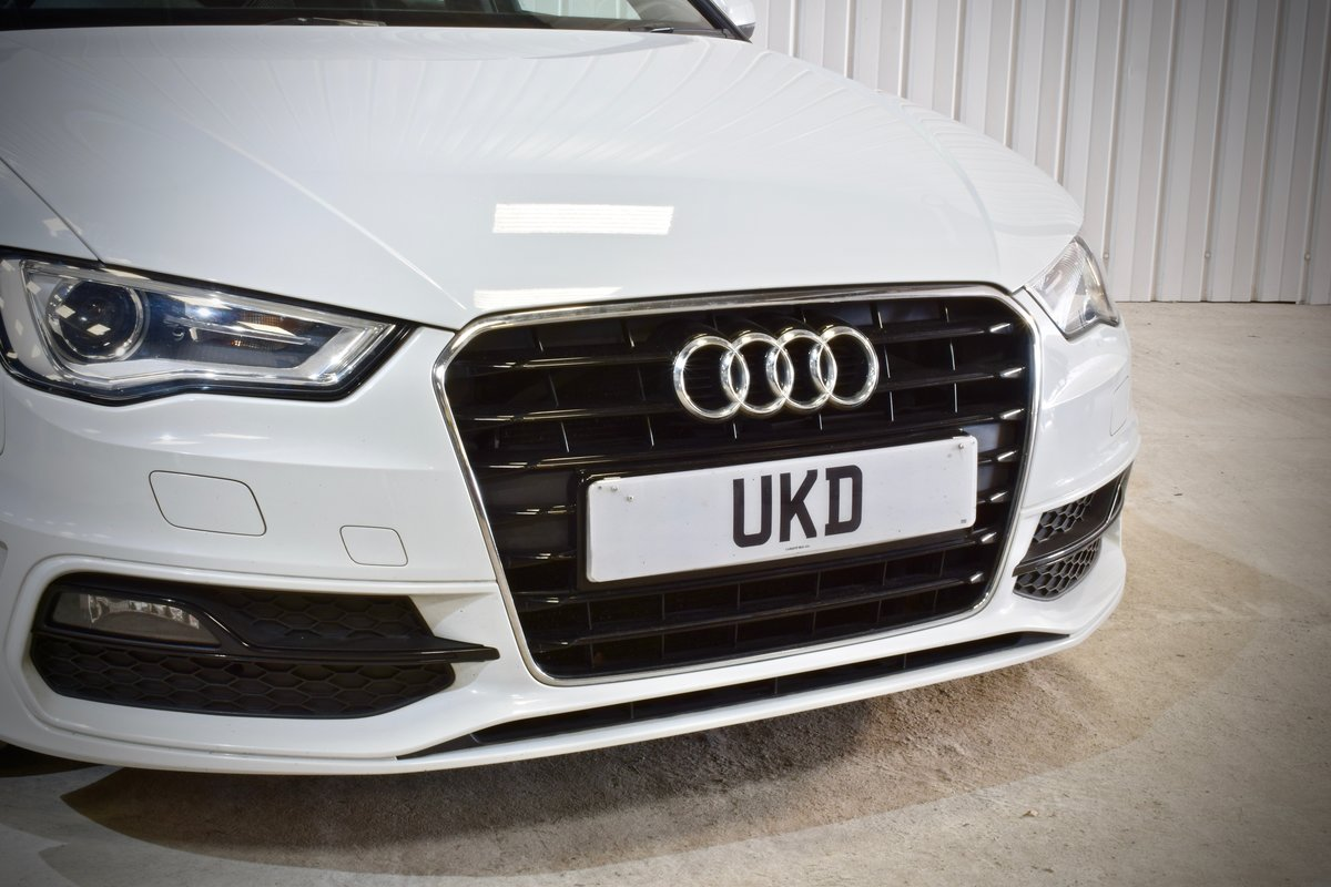 AUDI A3 S-LINE 2.0 5DR WHITE 2015 SPORTBACK SOLD (picture 5 of 15)
