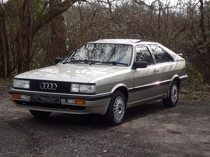 1987 DEPOSIT TAKEN – UNMOLESTED AUDI 2.2 GT COUPE