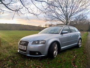 2008 Audi A3 200bhp. Rare panoramic roof, full leather.