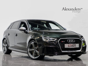 2018 18 67 AUDI RS3 2.5 TFSI QUATTRO S-TRONIC AUTO For Sale