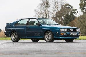 1986 Audi Quattro 10V For Sale