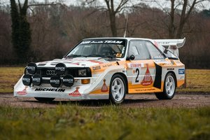 1987 QUATTRO S1 EVO 2 RALLY RE-CREATION For Sale by Auction