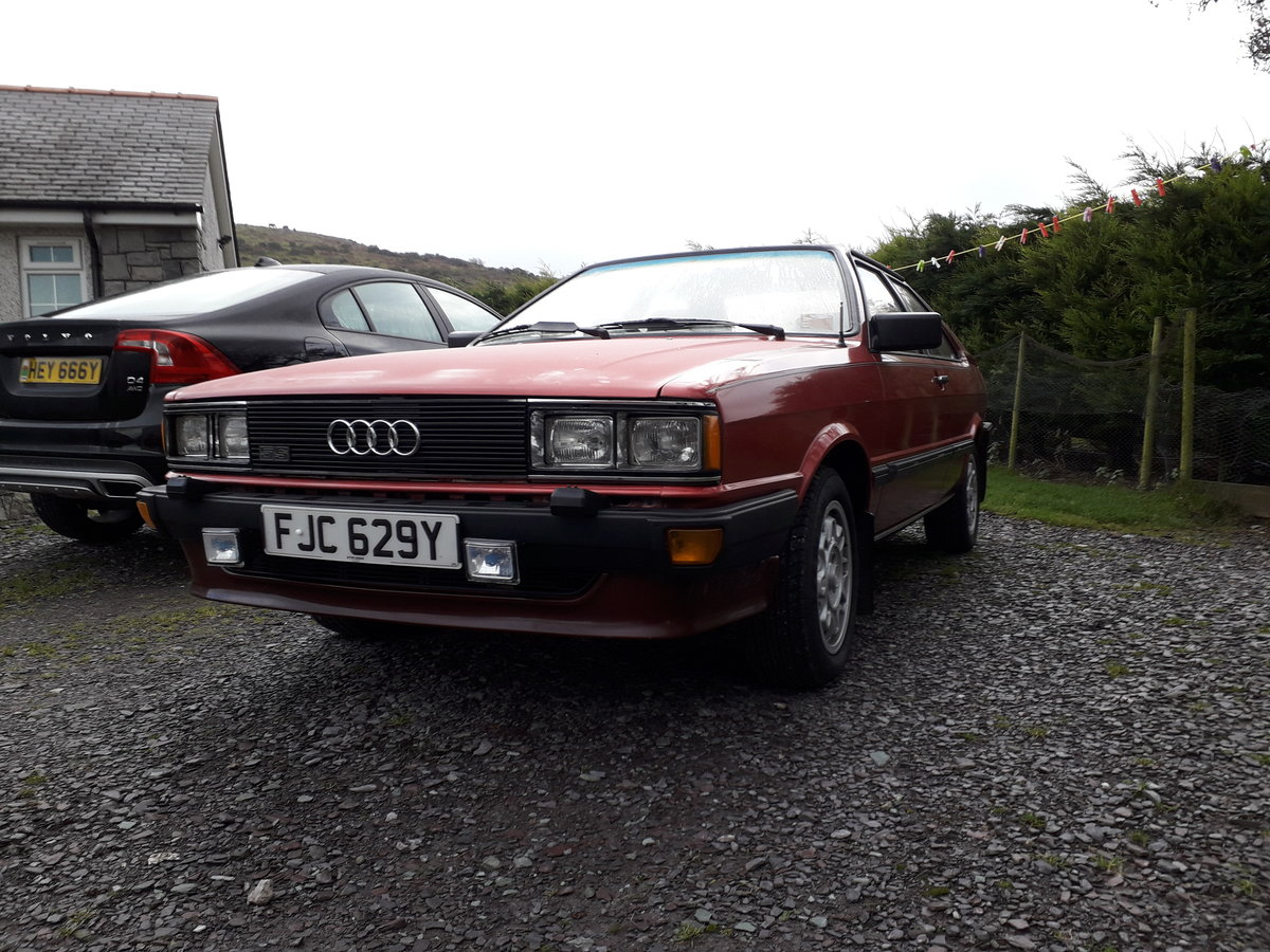 1982 Audi Coupe GT - Superb  SOLD (picture 1 of 3)
