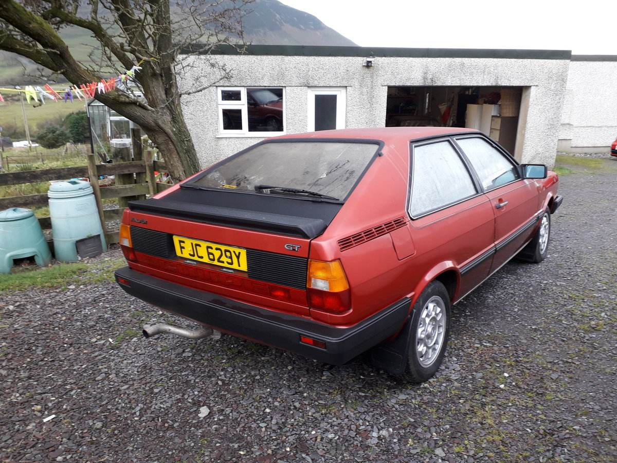 1982 Audi Coupe GT - Superb  SOLD (picture 2 of 3)