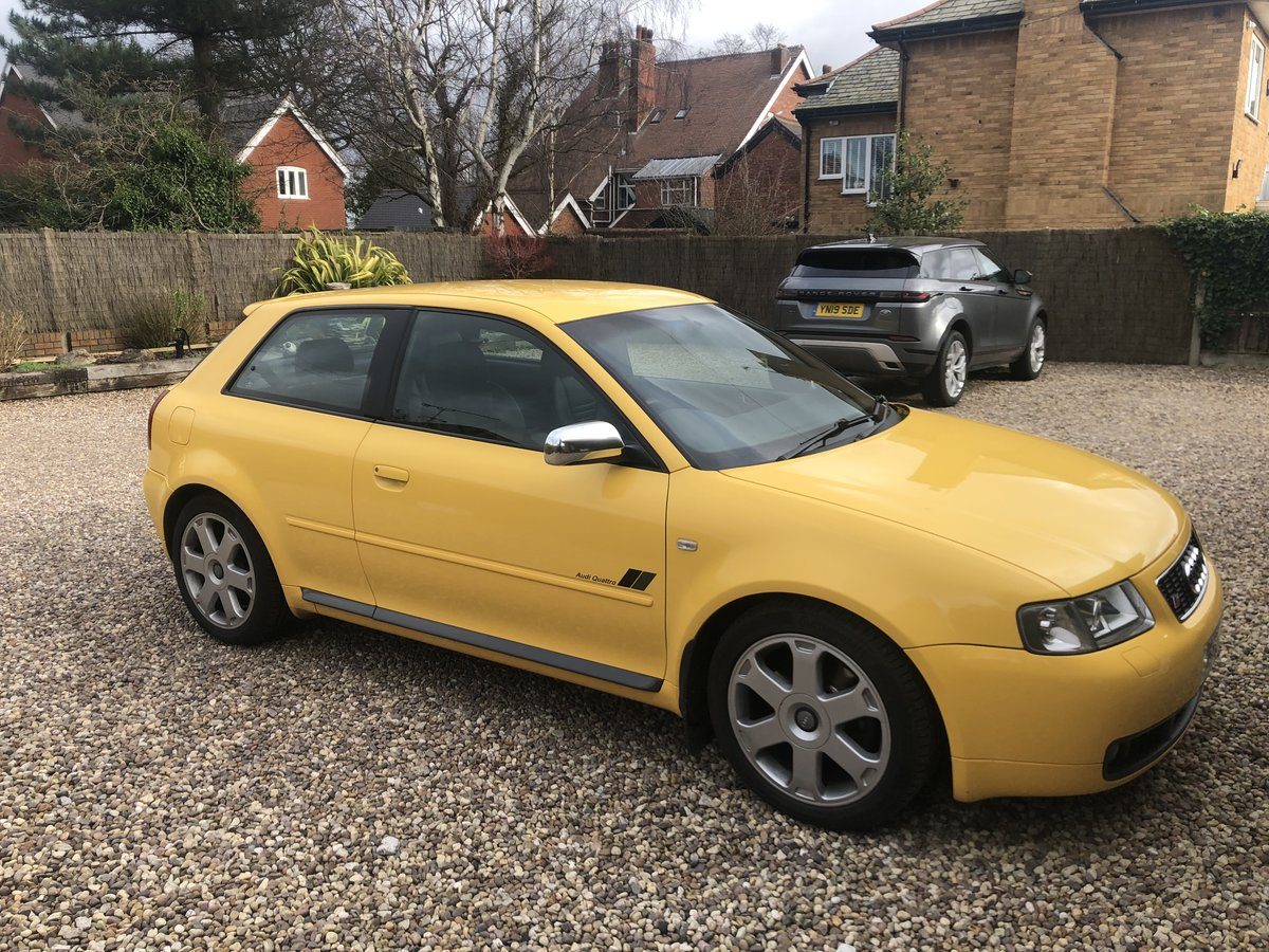 2000 Audi s3 As near original as you can get For Sale (picture 1 of 6)