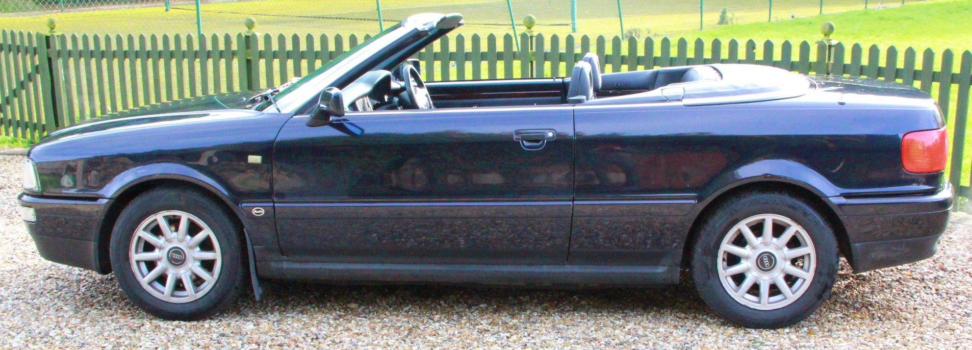 1995 Audi 80 2.0 Manual Convertible Very Original Car For Sale (picture 1 of 6)