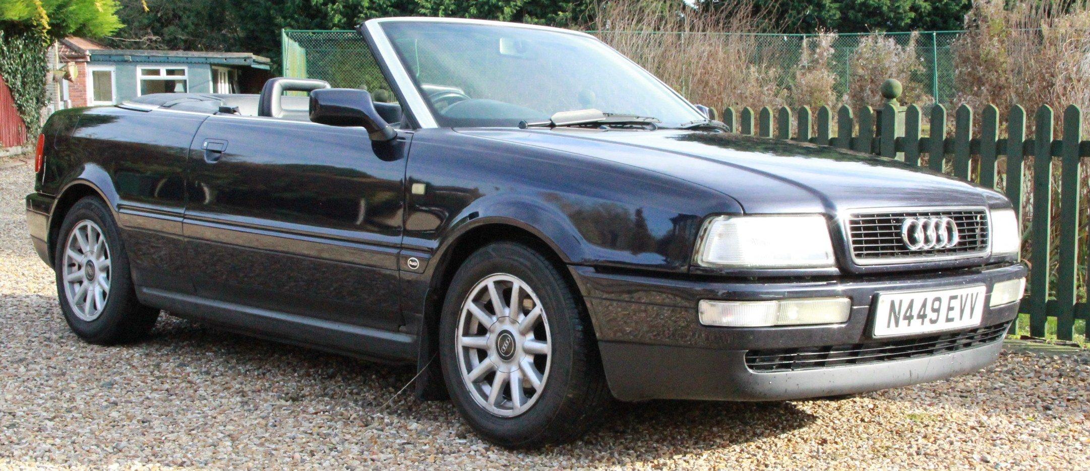 1995 Audi 80 2.0 Manual Convertible Very Original Car For Sale (picture 3 of 6)