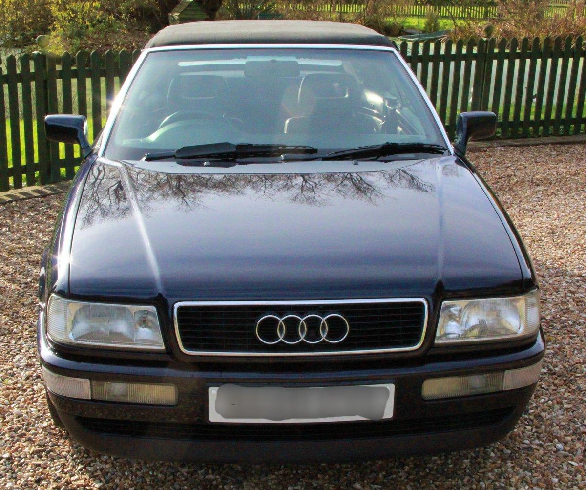 1995 Audi 80 2.0 Manual Convertible Very Original Car For Sale (picture 4 of 6)