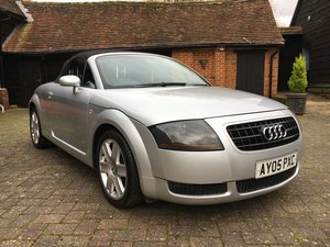 2005 AUDI TT 150 BHP CONVERTIBLE For Sale by Auction