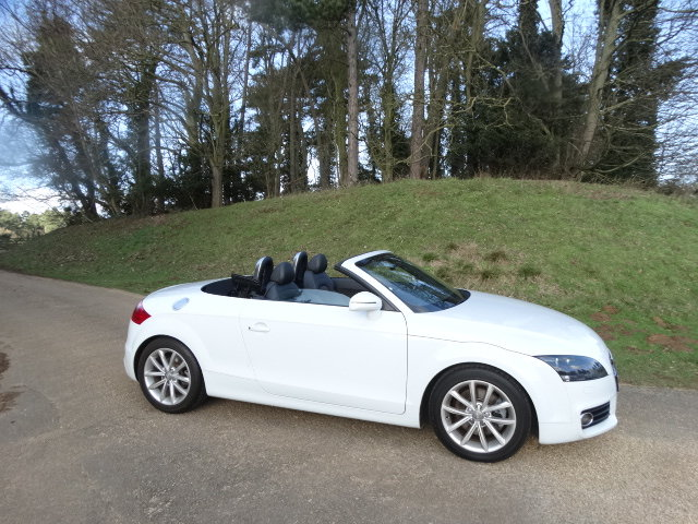 2013 AUDI TT SPORT TFSI CONVERTIBLE SOLD (picture 2 of 6)