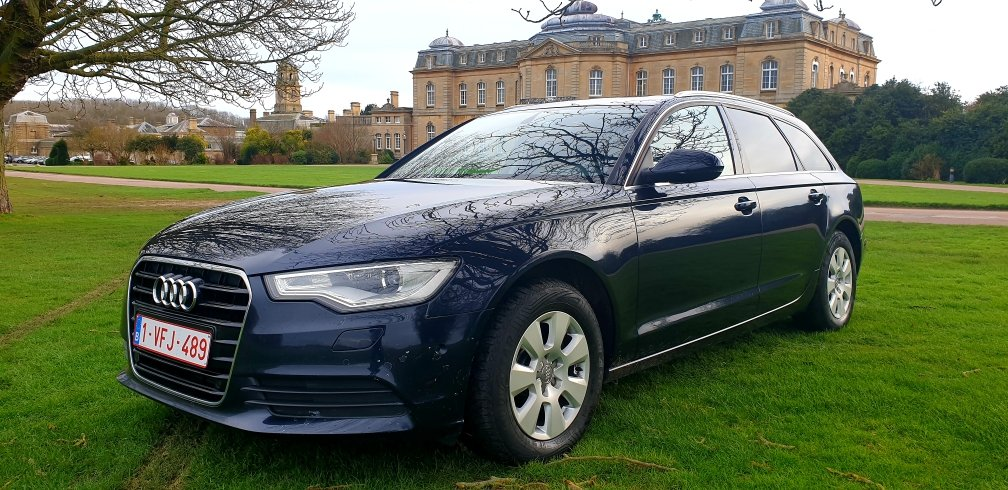 2013 LHD AUDI A6 2.0TDI ESTATE, 8 SPEED AUTO LEFT HAND DRIVE For Sale (picture 1 of 6)