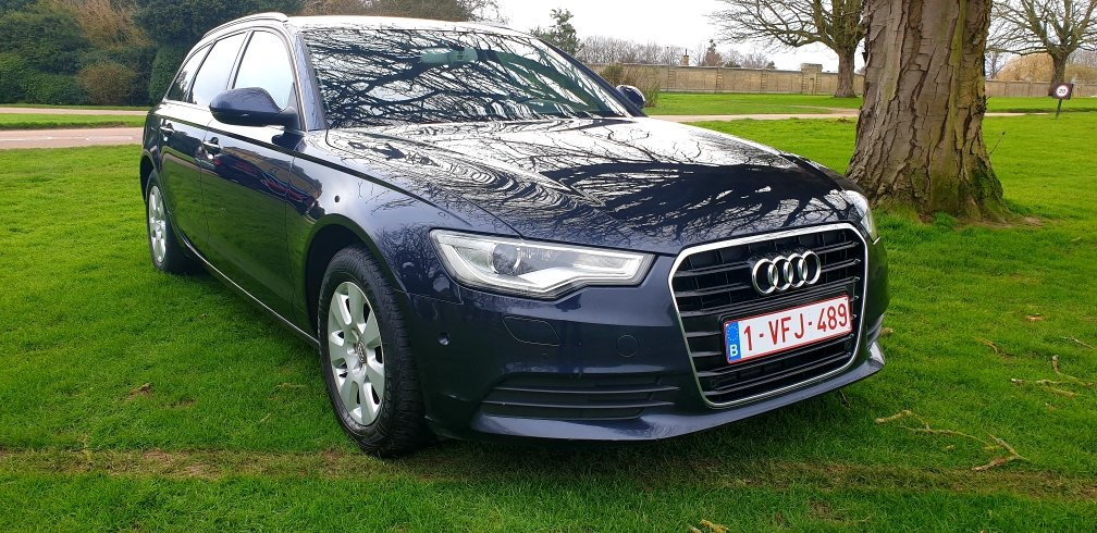 2013 LHD AUDI A6 2.0TDI ESTATE, 8 SPEED AUTO LEFT HAND DRIVE For Sale (picture 2 of 6)
