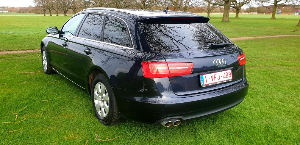 2013 LHD AUDI A6 2.0TDI ESTATE, 8 SPEED AUTO LEFT HAND DRIVE For Sale (picture 3 of 6)