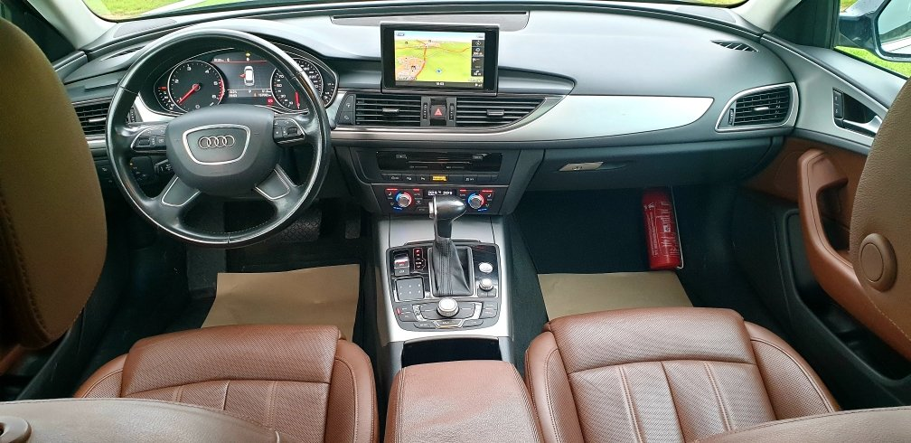 2013 LHD AUDI A6 2.0TDI ESTATE, 8 SPEED AUTO LEFT HAND DRIVE For Sale (picture 4 of 6)