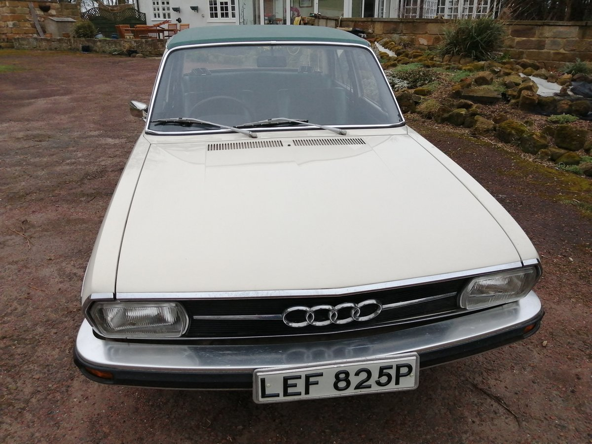 1976 Audi 100 LS only 27000 miles For Sale | Car And Classic