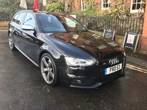 Audi S4 Quattro Avant TFSI 3.0 S Tronic Black Edition with h