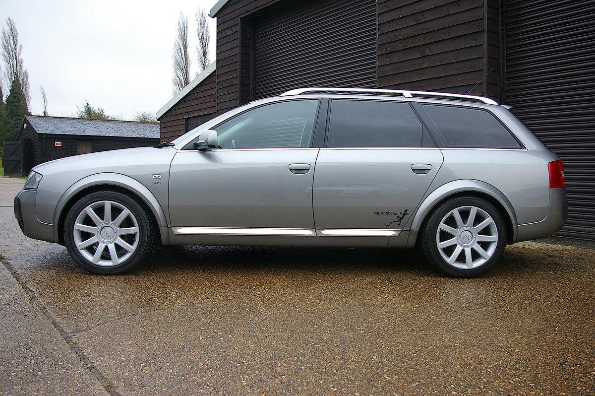 2005 Audi Allroad C5 4.2 FSI V8 Quattro Auto Estate (71880 miles) SOLD (picture 2 of 6)