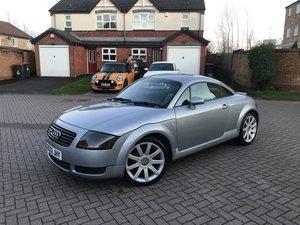 2002 Audi TT 180bhp*Quattro*Rare Avus Silver*WHITE Leather*
