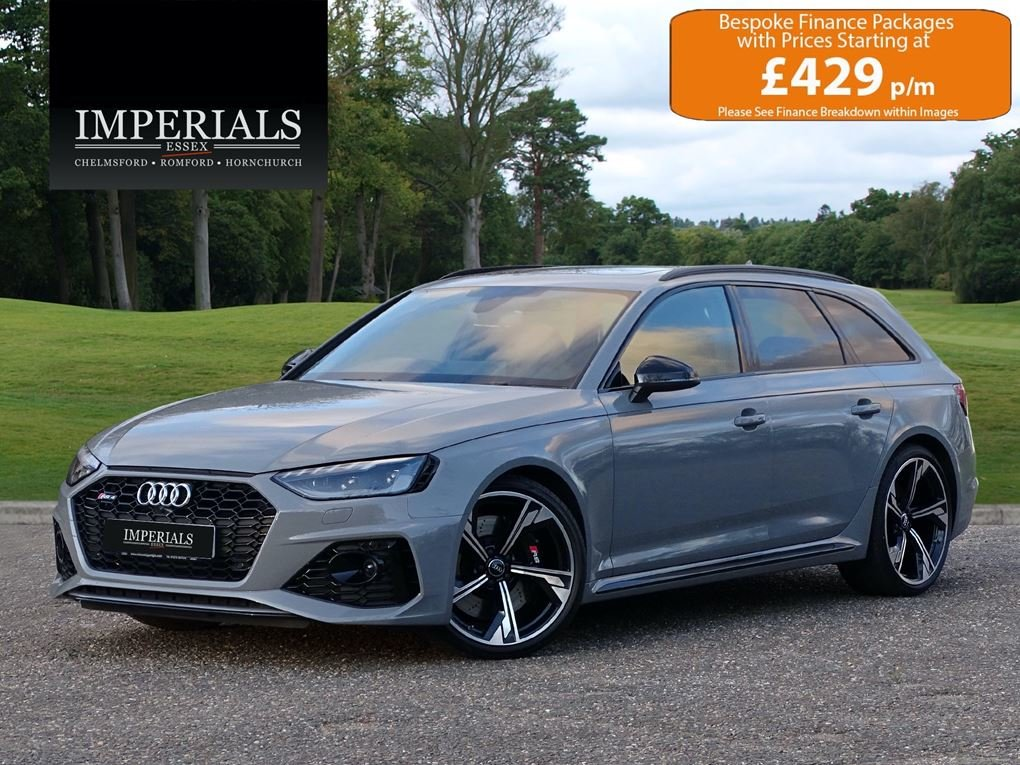 2020 Audi  RS4  TFSI QUATTRO AVANT NEW SHAPE AUTO  65,948 For Sale (picture 1 of 24)