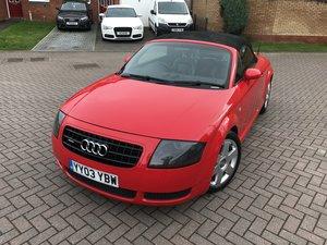 2003 Audi TT 180bhp*Quattro*Rare Misano Red*Full MOT*MINT*