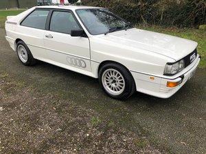 1986 Audi WR Quattro Turbo