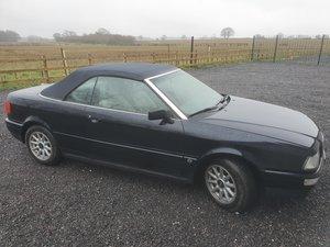1993 Audi 80 cabriolet 2.3 E 5 cylinder LHD