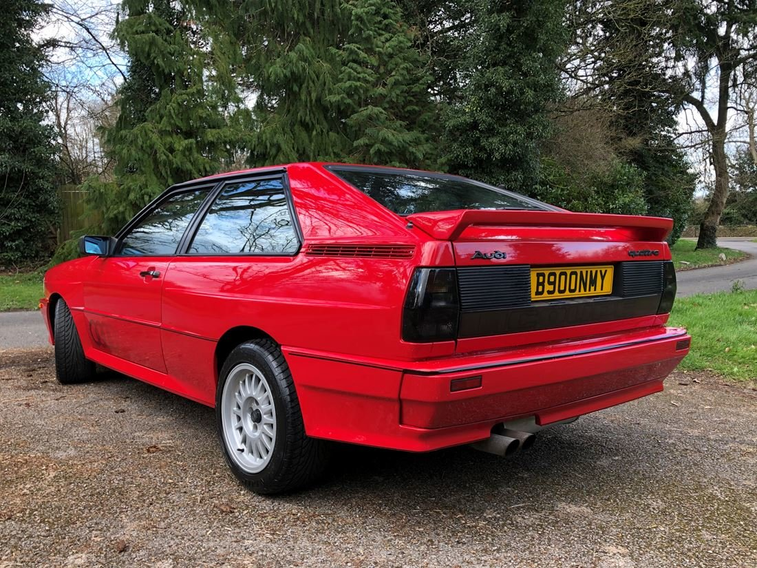 1985 AUDI UR QUATTRO ONE OWNER For Sale (picture 4 of 6)