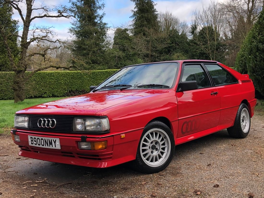 1985 AUDI UR QUATTRO ONE OWNER For Sale (picture 5 of 6)