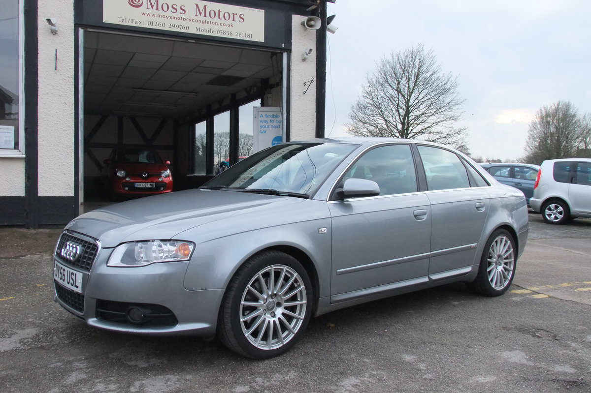 2006 AUDI A4 2.0 T S LINE SPECIAL EDITION 4DR For Sale (picture 1 of 6)