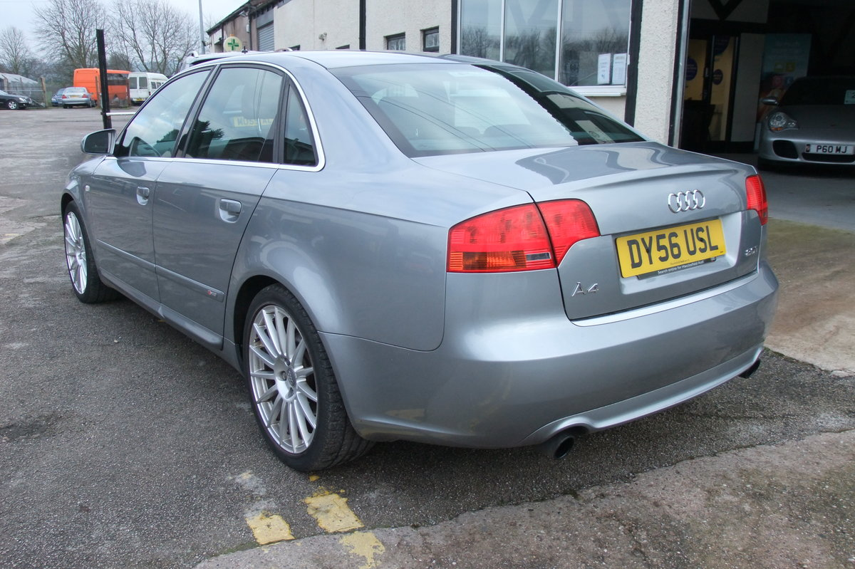 2006 AUDI A4 2.0 T S LINE SPECIAL EDITION 4DR For Sale (picture 3 of 6)
