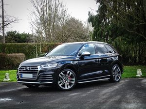 2018 Audi  SQ5  3.0 TFSI QUATTRO VAT Q AUTO  39,948 For Sale