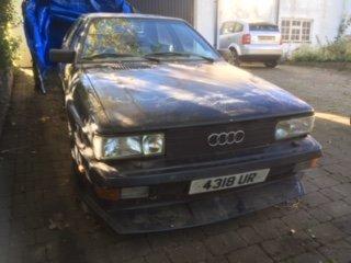 1982 Audi UR quattro Treser modified wr 10v  SOLD (picture 1 of 6)