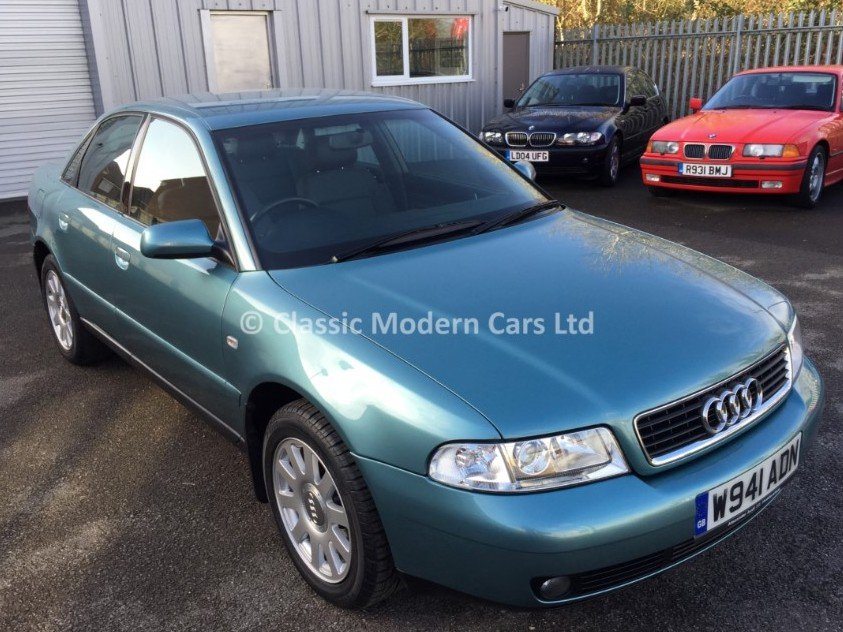 2000 Audi A4 1.8SE Manual, Jasper Green - 17K Miles Only SOLD (picture 1 of 6)