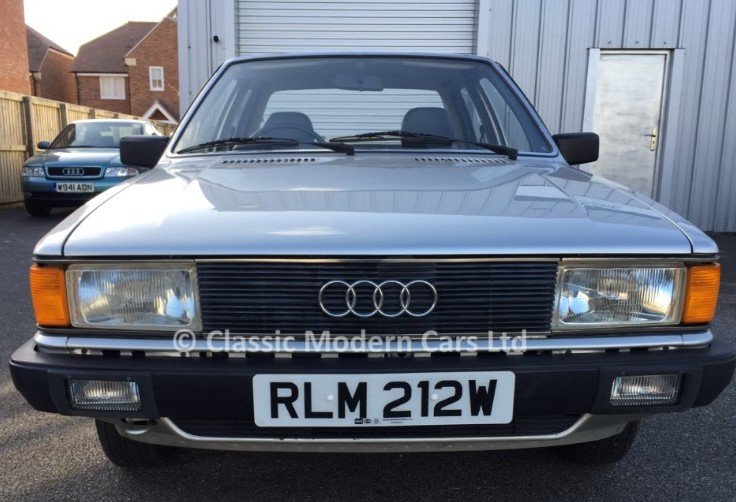 1981 Audi 80 LS 1.6 Auto - B2 Incredible example 4K miles SOLD (picture 1 of 6)