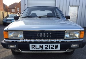 1981 Incredible Audi 80 LS 1.6 Auto B2 - Time Warp, 4K Miles Only
