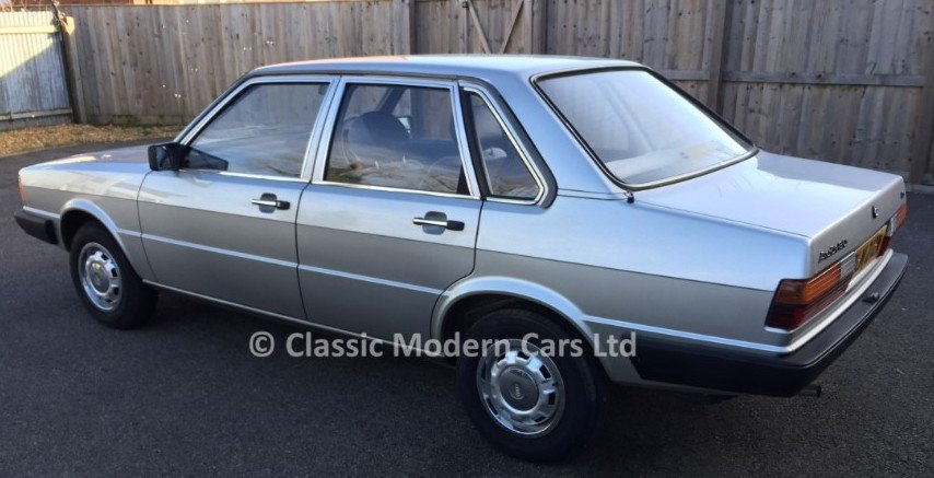 1981 Audi 80 LS 1.6 Auto - B2 Incredible example 4K miles SOLD (picture 3 of 6)