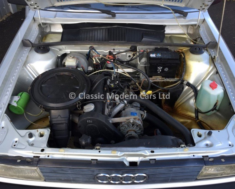1981 Audi 80 LS 1.6 Auto - B2 Incredible example 4K miles SOLD (picture 6 of 6)