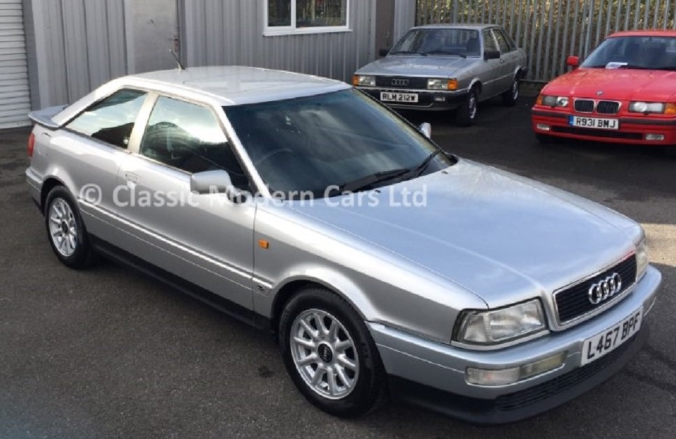 1994 Audi Coupe 2.6 E Manual - FSH, Low Miles SOLD (picture 1 of 6)