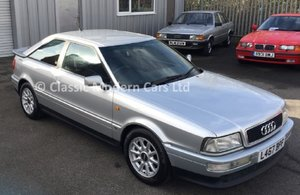 1994 Exceptional Audi Coupe 2.6E Manual, FSH, Low Miles