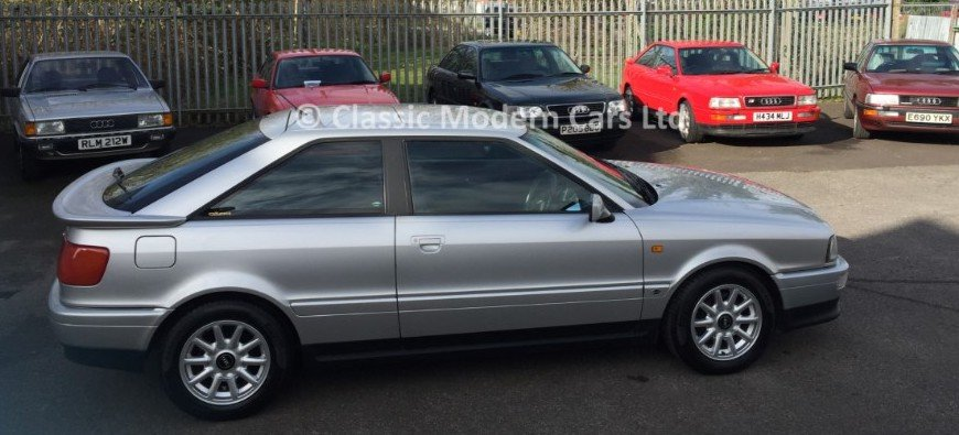 1994 Audi Coupe 2.6 E Manual - FSH, Low Miles SOLD (picture 2 of 6)